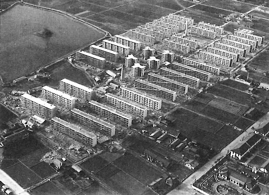 昭和30年代の金岡団地